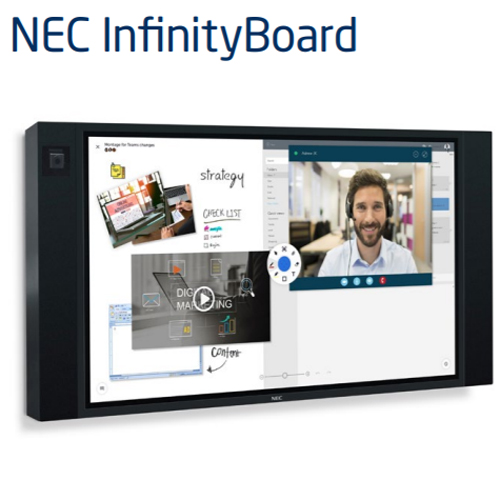"""NEC 65"""" Infinity Board bundled with Installation Service 1"""