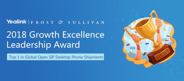 2018 Growth Excellence Leadership Award
