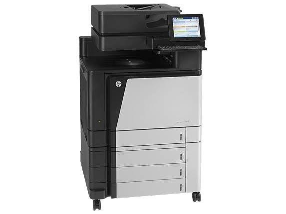 HP LaserJet Enterprise Flow M880z Multifunction Colour Duplex Laser Printer 1