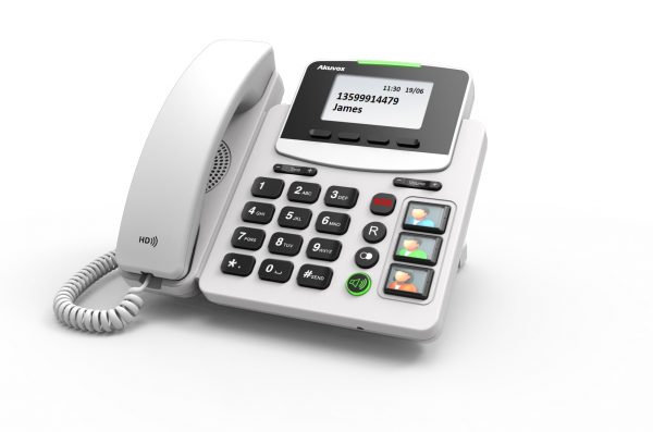 Akuvox, Big Button IP Phone with Pendant 1
