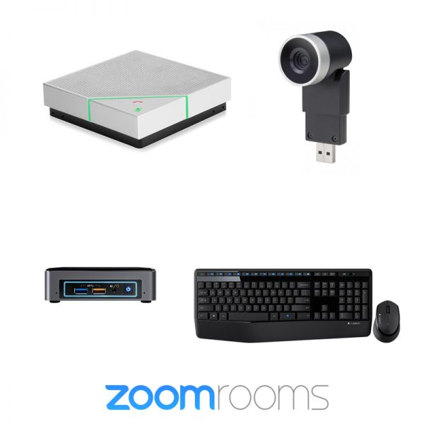 Zoom Rooms Bundle Single Screen Ready (Small 1-2 People) 1