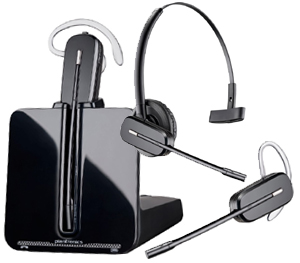 Plantronics CS540 DECT Convertible Wireless Headset System 1