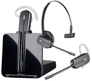 Plantronics CS540 DECT Convertible Wireless Headset System 3
