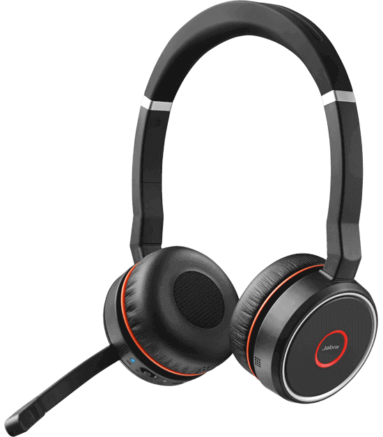 Jabra Evolve 75 Stereo UC Wireless Headset 1