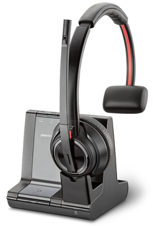 Savi 8210 3-in-1 Office, Over the Head Monaural DECT Headset 1
