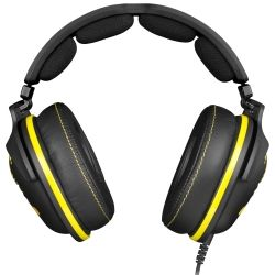 SteelSeries Black and Yellow 9H Natus Vincere (NaVi) Edition USB Headset 1