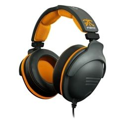SteelSeries Black and Orange 9H Fnatic Edition USB Headset 1