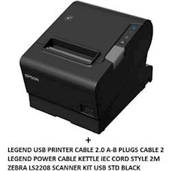 TM-T88VI USB BUNDLE with Cables + LS2208 1