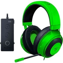 Razer Kraken Tournament Edition - Wired Gaming Headset with USB Audio Controller - Green - FRML Packaging 1