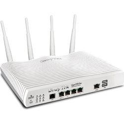 Draytek Vigor2862vac Multi WAN Firewall Router VDSL2/ADSL2+ Gigabit 3G/4G USB WAN Port Load Balance Fail-over 4xGiga LANs CSM 32xVPNs MOD-DV2860VAC 1
