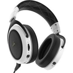 Corsair HS70 Wireless Gaming Headset - White (AP) 1