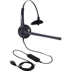 Addcom (ADD-20) USB Monaural Headset Lync Compatible 1
