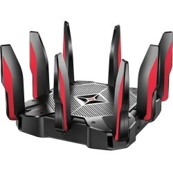 TP-Link AC5400 MU-MIMO Tri-Band Gaming Router, 1.8 GHz 64-bit Quad-Core CPU, three co-processors and 1GB RAM, Dynamic optimization engine 1