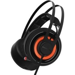 SteelSeries Black Siberia 650 RGB USB and 3.5mm Headset 1