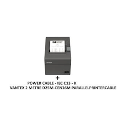 Epson TM-T70II-002 - Thermal Receipt Printer with Parallel Printer Cable and Power Cable 1