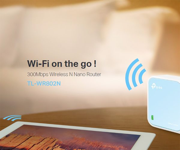 TP-Link 300Mbps Wireless N Nano Router 3