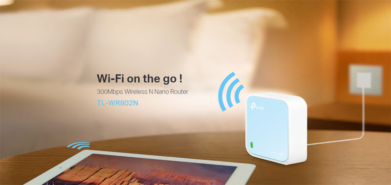 TP-Link 300Mbps Wireless N Nano Router 4