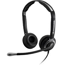 Sennheiser CC 550 - Over the head, binaural headset with extra-large ea 1