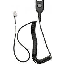Sennheiser CSTD 17 - Bottom cable: EasyDisconnect to Modular Plug - Coi 1