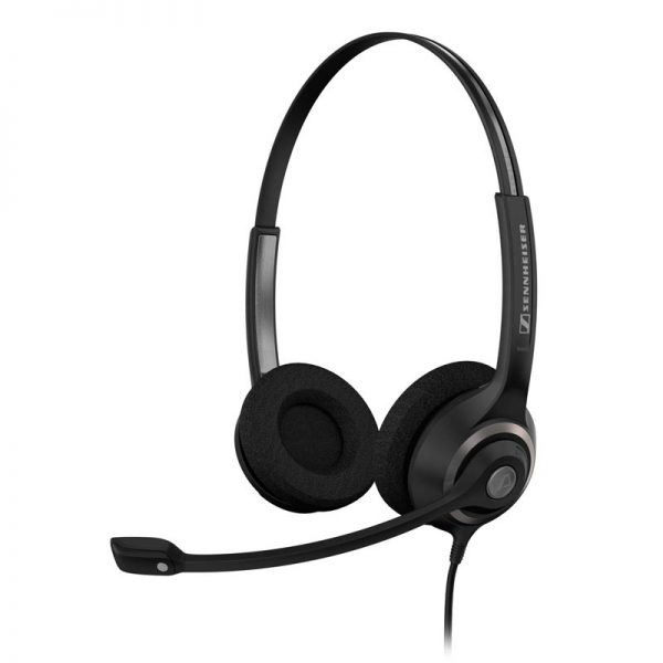 Sennheiser SC 260 - Headset, Binaural, WITH ED, for Wideband and Narrow 1