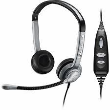 Sennheiser SH 358 IP USB - Over the head, binaural wideband headset wit 1