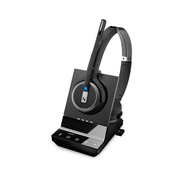 SDW 5066 Double-sided wireless headset, triple connectivity 1