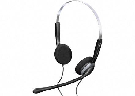 Sennheiser SH 250 - Over the head, Binaural headset, no Noise Cancellin 1