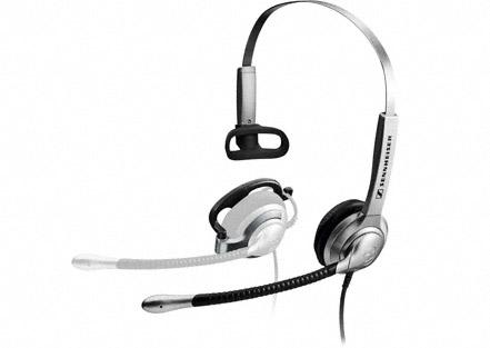 SH Sennheiser SH 335 - 2-in-1 Flexible Headset with Headband & Ear Clip Options 1