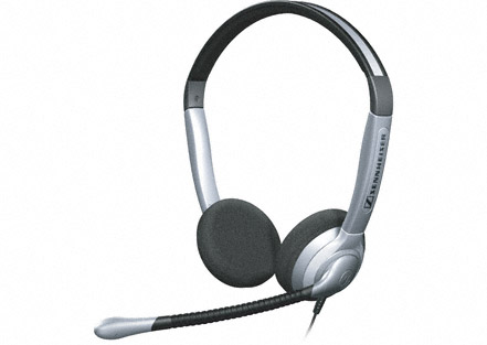Sennheiser SH 350 - Over the head, Binaural Headset with large ear cushions 1