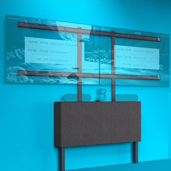 Dual Display Kit For AV Credenza 1
