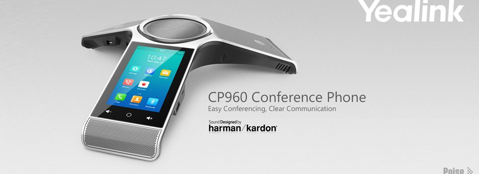 Yealink CP960 conference phone also for skype and MS