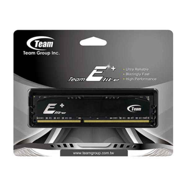 Team Group 4GB (1x4GB) DDR3-1600MHz PC-12800 240pin DIMM CL11 (11-11-11-28) 1.5V, Elite Plus Memory 1