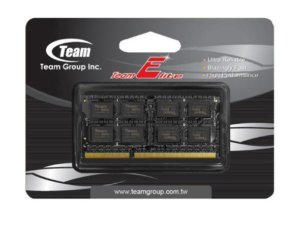 Team Group 4GB (1x4GB) DDR3L-1600MHz PC3L-12800 204pin SODIMM CL11 (11-11-11-28) 1.35V, Elite Memory 1