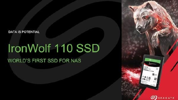 "Seagate IronWolf 110 SSD - 2.5"" SATA SSD - 3840GB , 5 year Warranty with a  2-year Data Recovery Services included! Stock on hand Promo! 1"