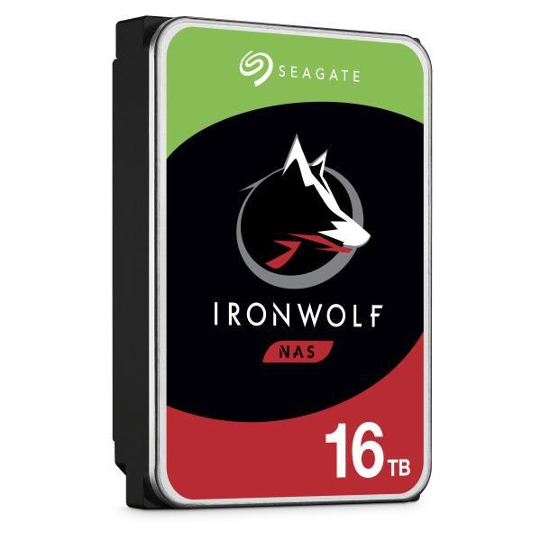 Seagate Iron Wolf PRO NAS  Internal 16TB HDD, SATA 6Gb/s, 1.2M hours MTBF, 5-year limited warranty. 1