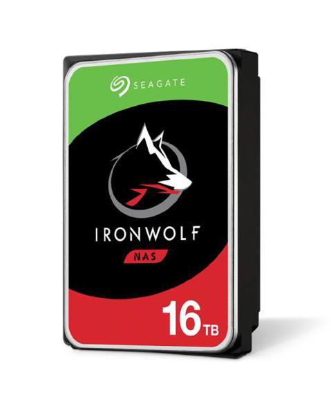 "Seagate IronWolf NAS HDD 16TB 3.5"" Internal SATA 6Gb/s, 7200 RPM, Cache 3 Year Wty 1"