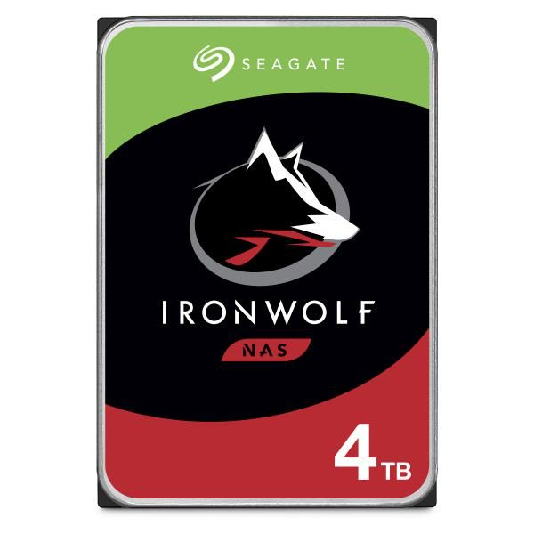 "Seagate IronWolf NAS HDD 3.5"" Internal SATA 4TB NAS HDD, 5900 RPM, RV Sensors, 3 Year Warranty 1"