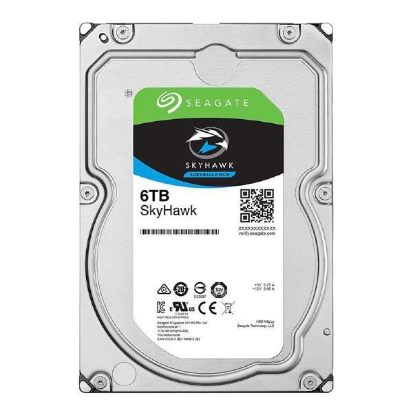 "Seagate 6TB SkyHawk Surveillance Drive ST6000VX001 SATA 3.5"" HDD 1"