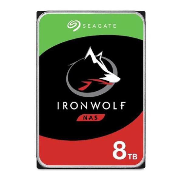 "Seagate IronWolf NAS HDD 3.5"" Internal SATA 8TB NAS HDD, 7200 RPM, 3 Year Warranty 1"