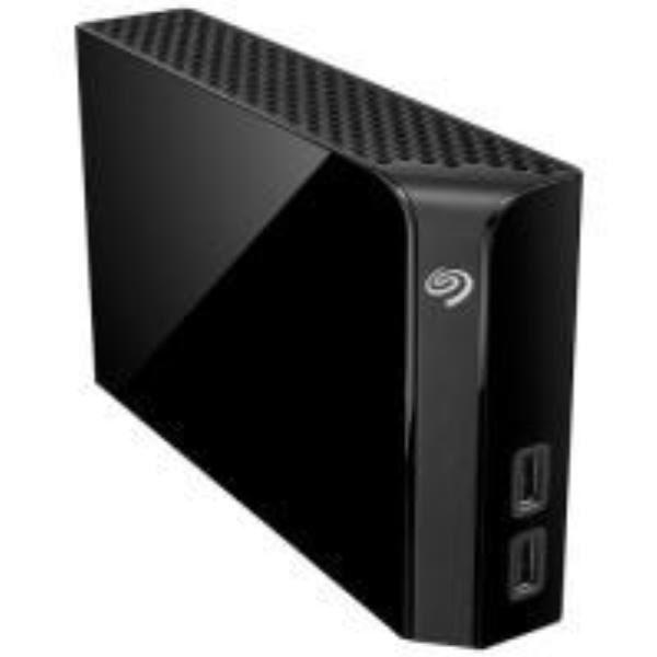 Seagate External 8TB Backup Plus Desk Hub , Black, 3 year Warranty - Integrated USB 3.0 HUB 1
