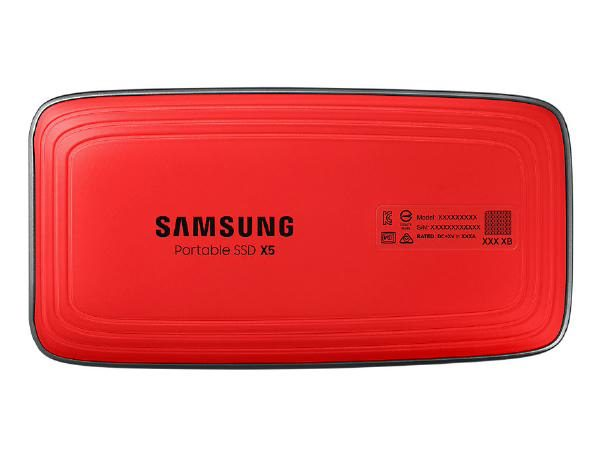 Samsung Portable SSD X5, 2TB, Thunderbolt 3 ONLY, Type-C, Read/Write(Max) 2800MB/s, 2,300MB/s, Password Security, 3 Years Warranty 1