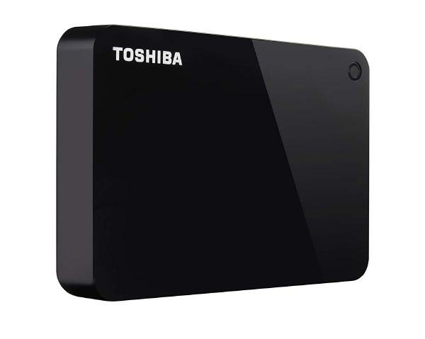 "Toshiba Canvio Advance 4TB Black USB 3.0 2.5"" Portable Hard Drive 1"