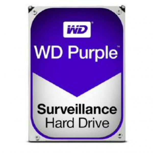 "WD HDD 3.5"" Internal SATA 2TB Purple, Variable RPM, 3 Year Warranty - WD20PURZ 1"