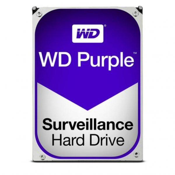 "WD HDD 3.5"" Internal SATA 4TB Purple, Variable RPM, 3 Year Warranty - WD40PURZ 1"
