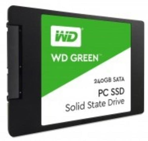 WD SSD Green, 2.5 Form Factor, SATA Interface, 240GB, CSSD Platform, 3Yr Warranty 1