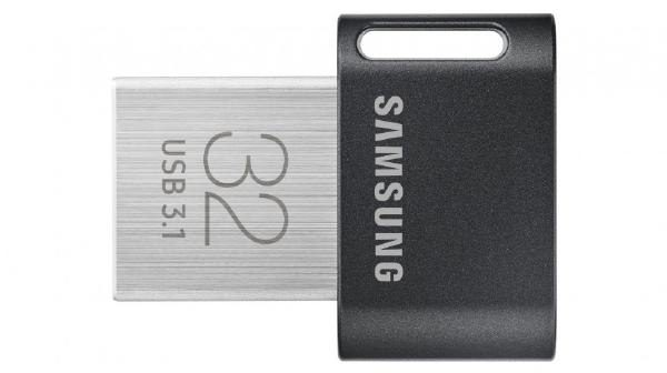 Fit Plus USB Drive, Gunmetal Gray, 32GB, USB3.1, Read/Write Up to 200MB/s/30MB/s, 5 Years Warranty 1