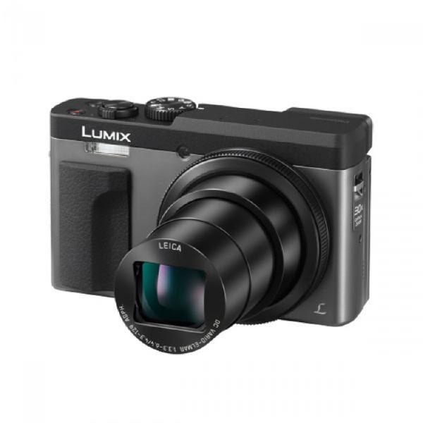 Panasonic Lumix DC-TZ90 30x Zoom Leica 4k Video/Photo/Selfie/Tilt LCD Compact Camera -Black/Dark Silver 1