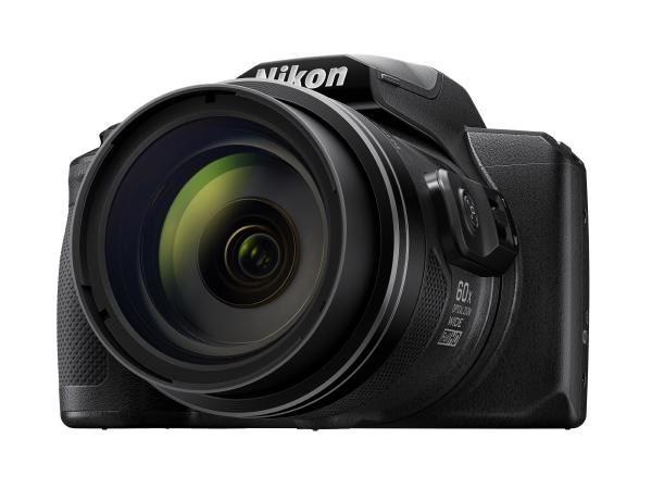 Nikon Digital Compact Camera COOLPIX B600, Black, 16MP, 60x Optical Zoom, Fixed Lens Mini HDMI 1