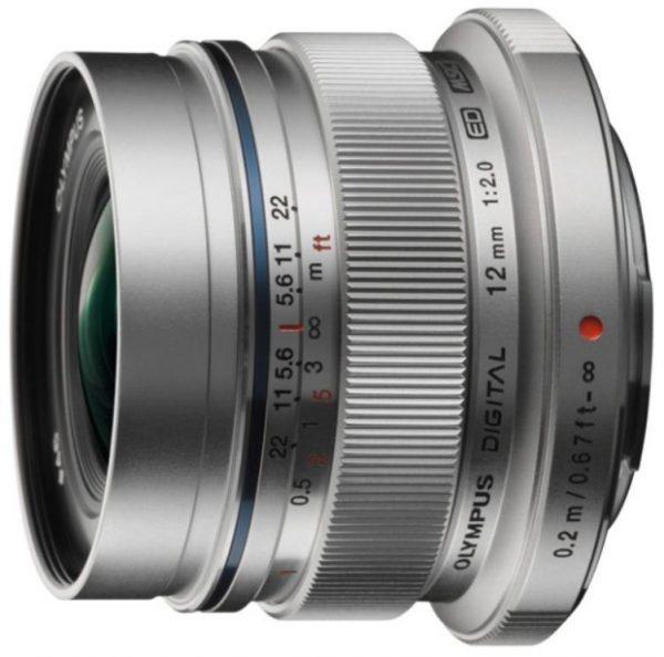 Olympus EW-M1220 12mm f2.0 Silver 1