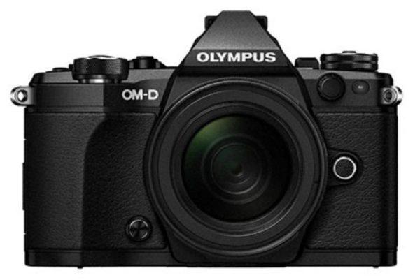 OM-D E-M5 Mark II Adventure Kit (EZ-M1415-2 Lens) - Black Body, Black Lens-  16.1MP Micro Four Thirds Camera + 14-150 mm Mark II Lens 1